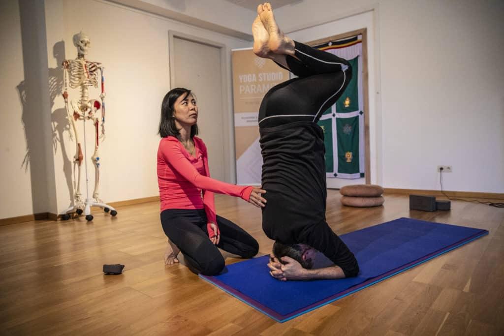 Formation professeur de yoga 200h