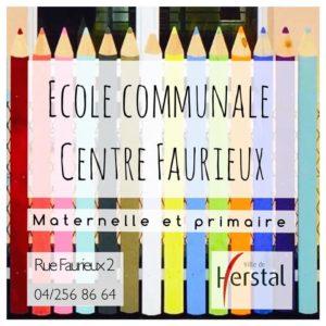Ecole communale maternelle Centre Faurieux